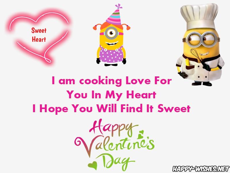 Best Happy Valentine's day Minion Pictures