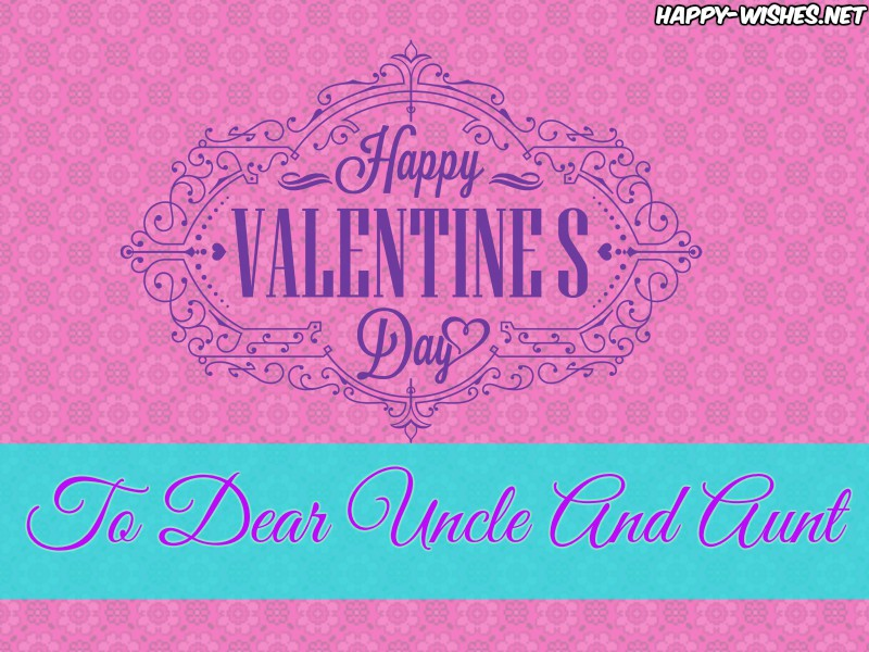 Best Happy Valentine's day wishes for Uncle and Aunt