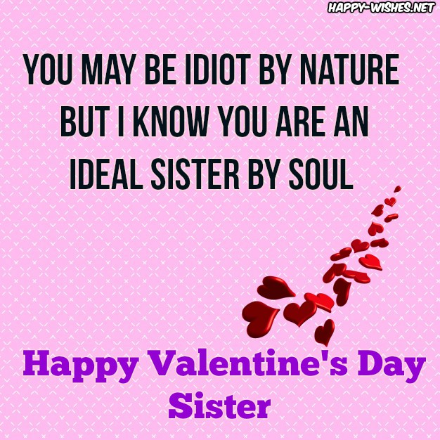 Best Valentine's day quotes for Sister