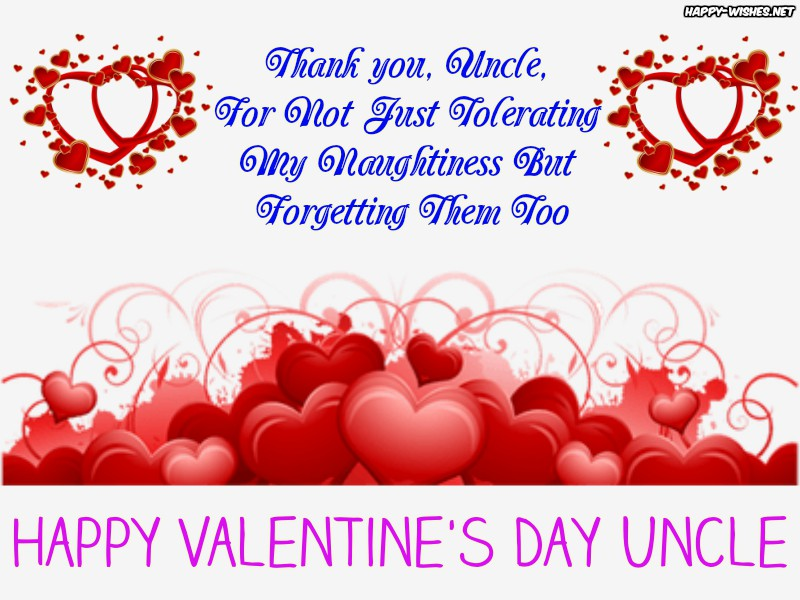 Best Valntine's Day Wishes For Uncles