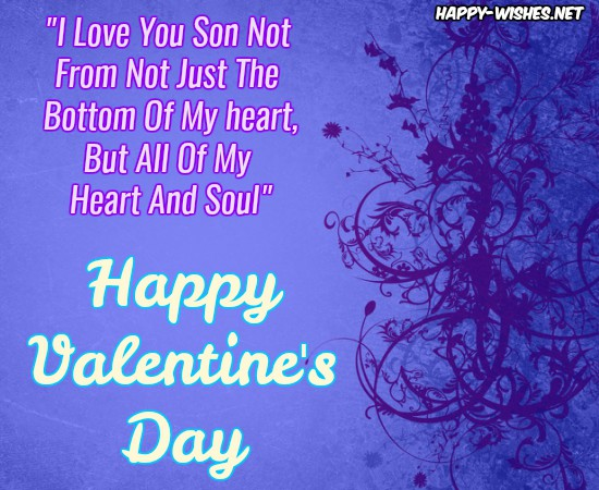 Best Wishes For Son On Valentine's Day