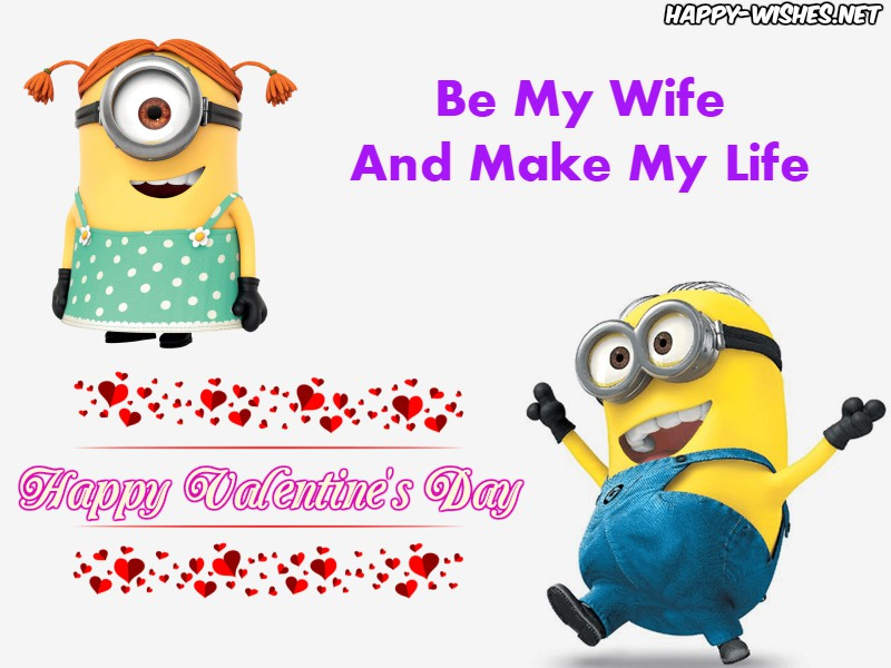 Boy Proposing Girl Minion Images