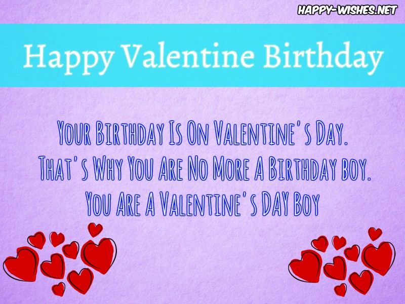 Happy Birthday On Valentine's Day Images