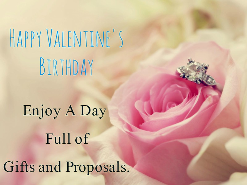 Happy Valentine's Birthday Messages