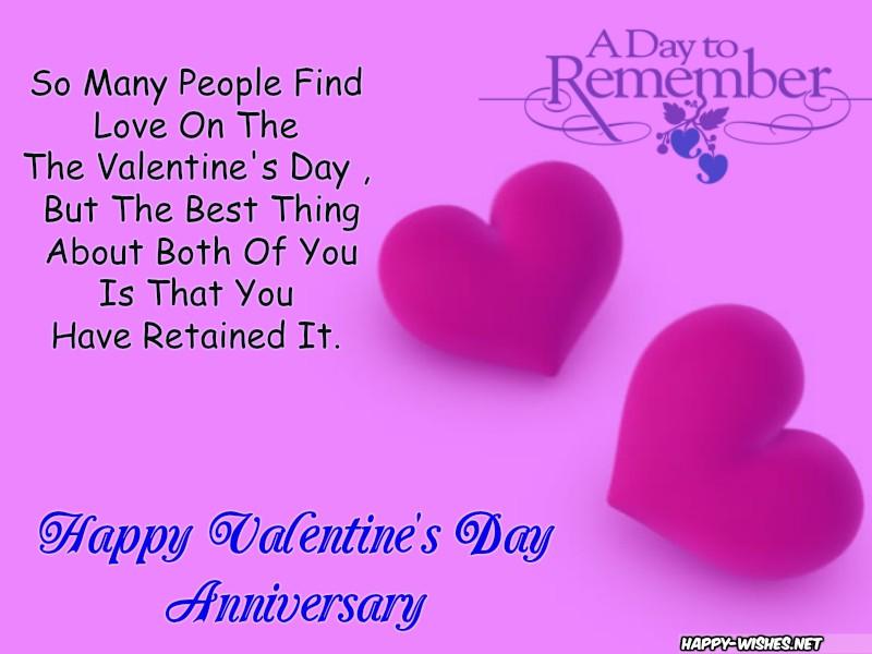 Happy Valentine's Day Anniversary Messages