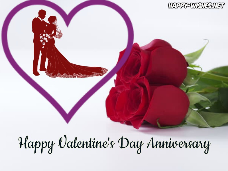 Happy Valentine's Day Anniversary Wishes images