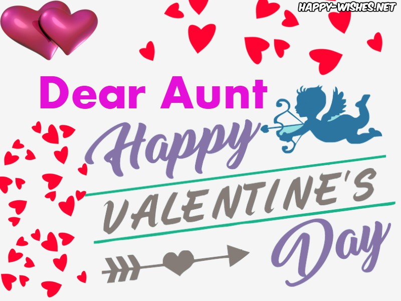 Dear Aunt Happy Valentines day