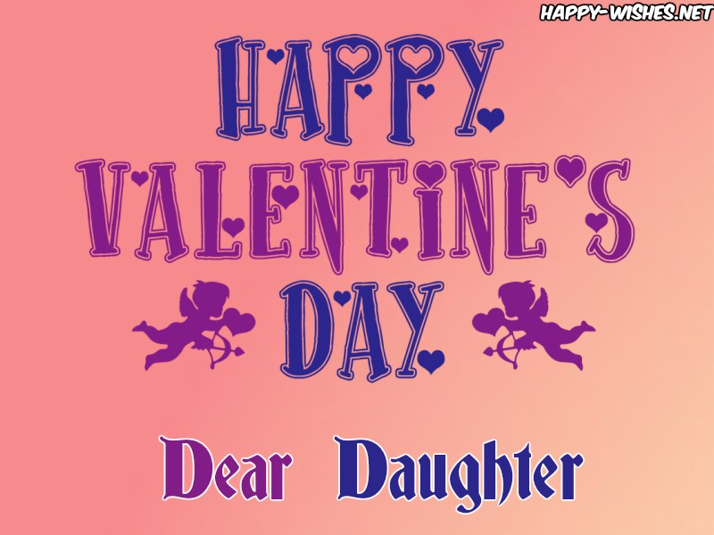 Happy Valentine's Day Images for Daughter