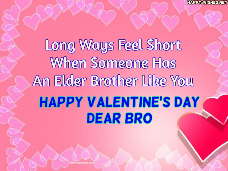 Happy Valentine's Day Messages For Brother