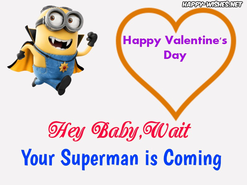Happy Valentine's Day Minion Funny Images