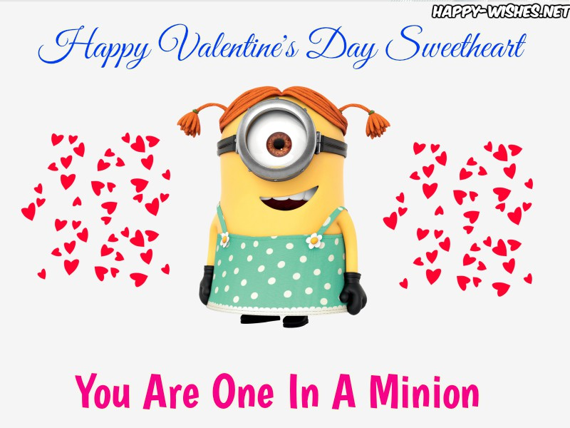 Happy Valentine's Day Minion Images