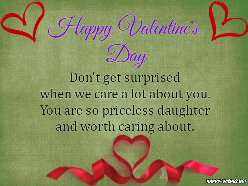 Happy Valentine's Day Quotes for daughter