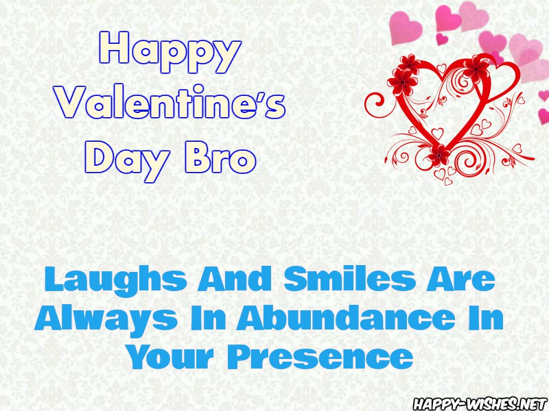 Happy Valentine's Day Wishes For Bro - Copy
