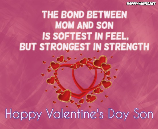 Happy Valentine's Day Wishes For the Son