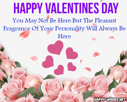 Happy Valentine's Day Wishes In Heaven