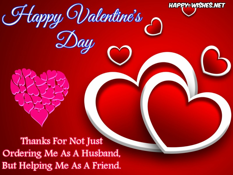 Happy Valentine's Day Wishes for Hubby