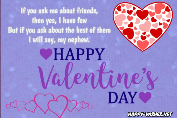 Happy Valentine's day Messages For Nephew