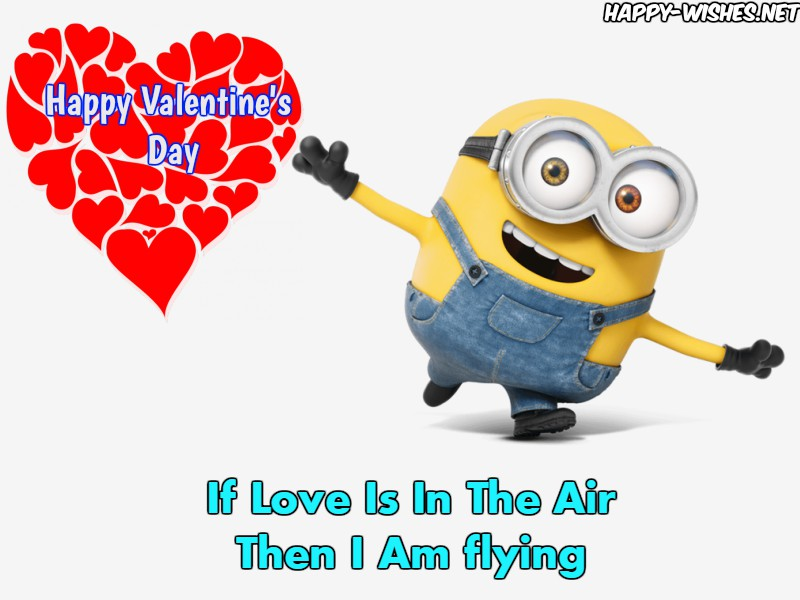 Happy Valentine's day Minion Pictures