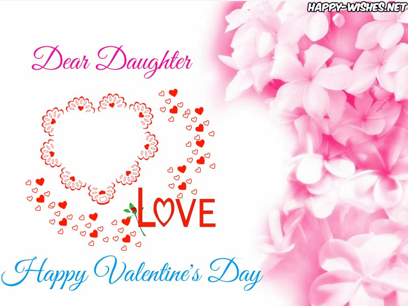 Happy Valentine's day Pictures for daughter