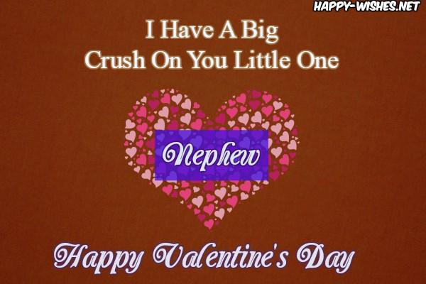 Happy Valentine's day Quotes For Nephew