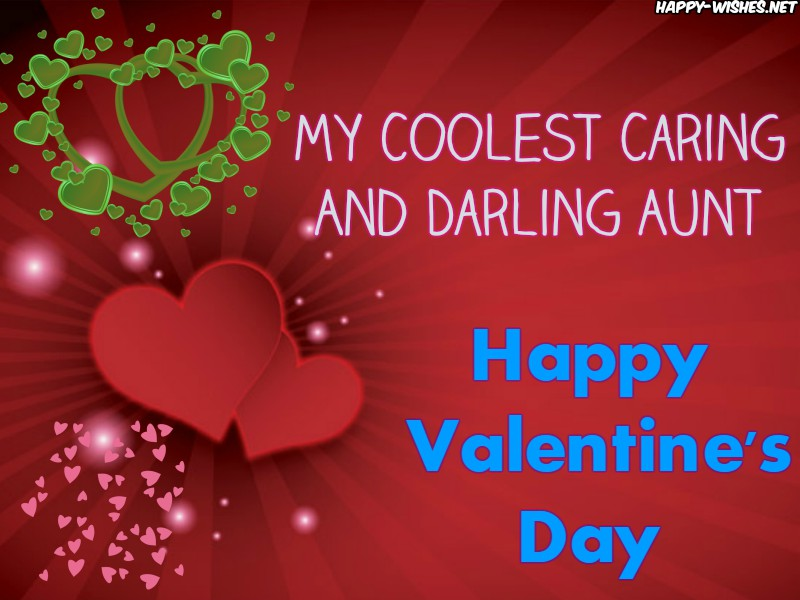 Happy Valentine's day Wishes For Aunt