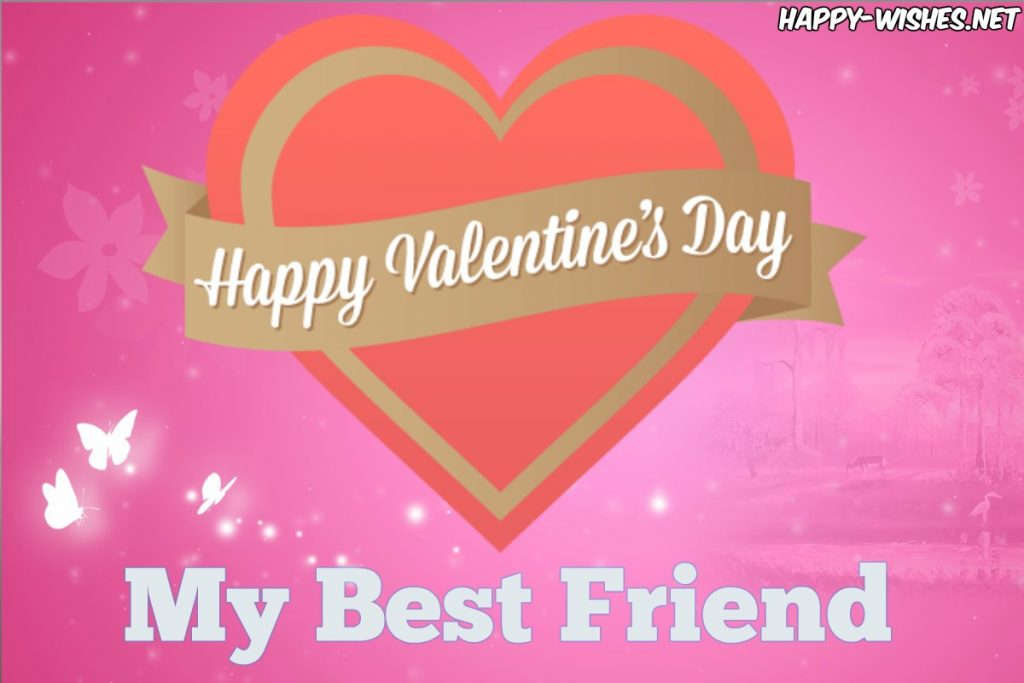 Images for the wishing friend on Valentine's day