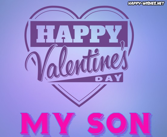 Pictures On Valentine's Day For My Son