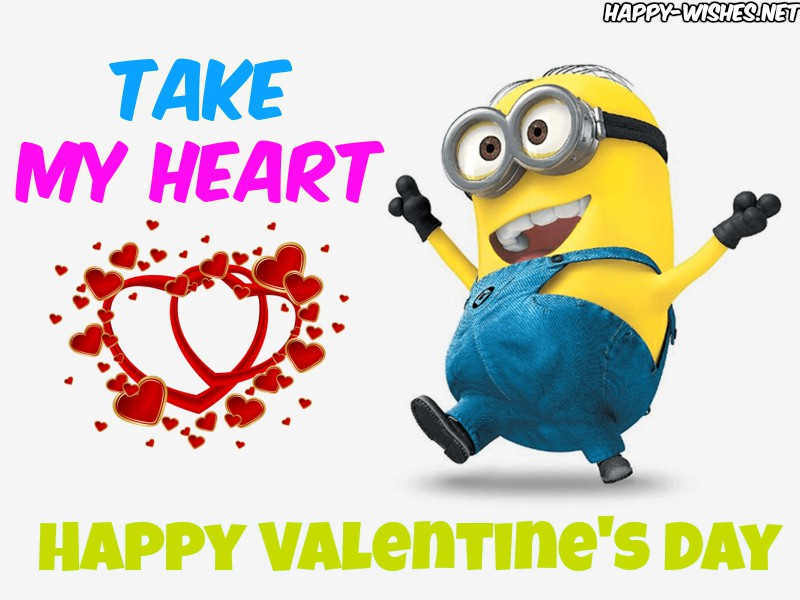 Valentine's Day Minion Images