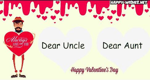 Valentine's Day Wishes For Uncle and Aunt