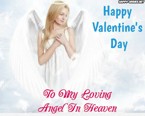 Valentines day quotes for angel in heaven