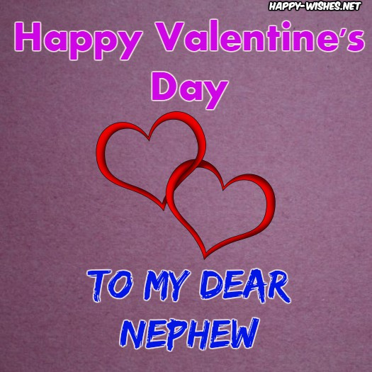 Wishes for nephew on Valentine's day