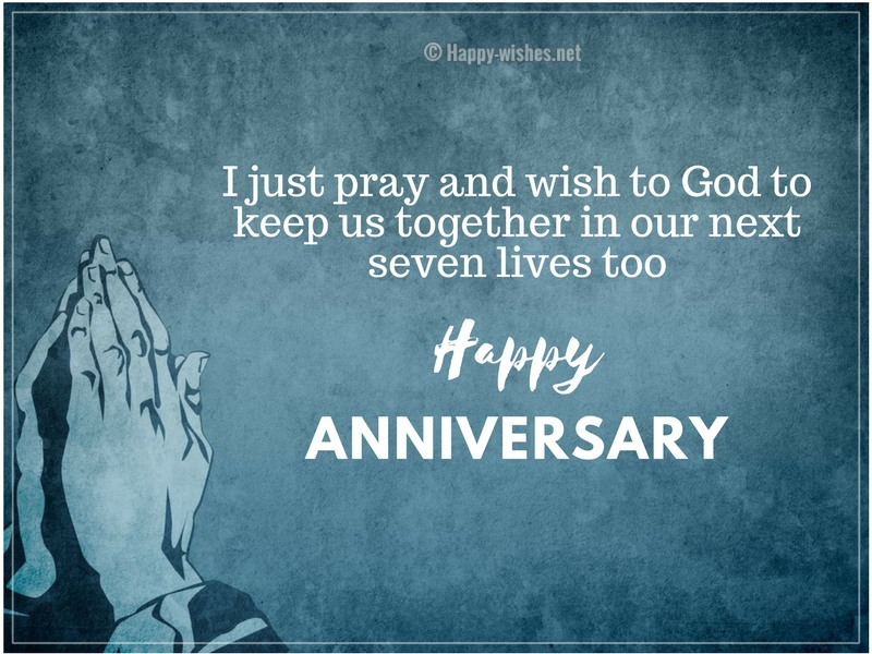 Happy Anniversary Religious Wishes
