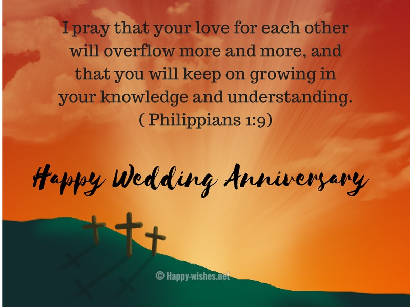 Bible Verses for Wedding Anniversary