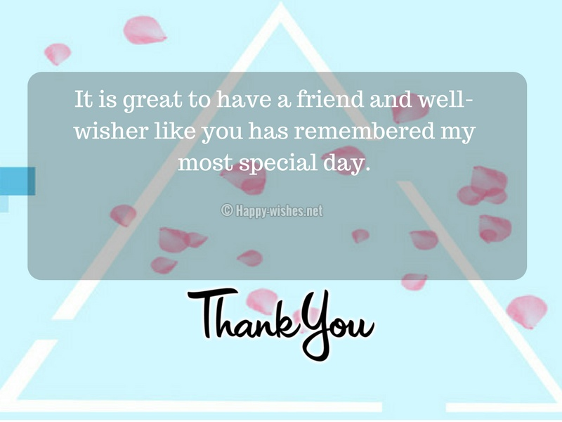 It is great to have a friend and well-wisher like you has remembered my most special day-compressed
