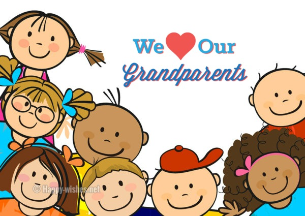 We Love Our Grandparents