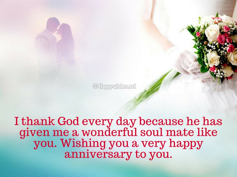 Wishing you a very happy anniversary to you.