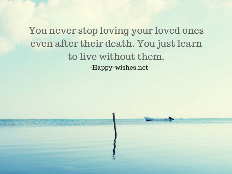 You never stop loving your loved ones even after their death-compressed