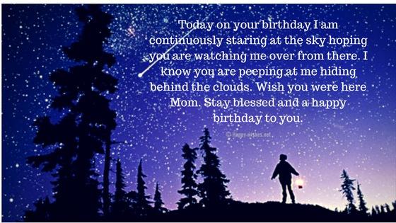 Happy Birthday Mom in Heaven