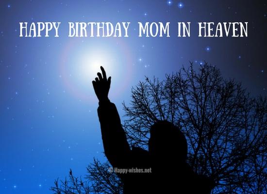 Happy Birthday dear mom in heaven