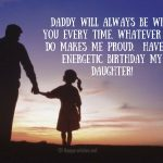 Have an energetic birthday my daughter