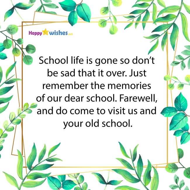 30 Farewell Quotes For Seniors