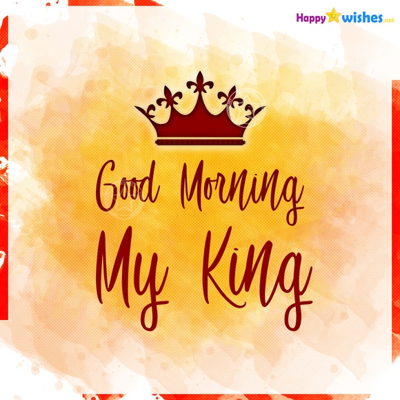 Good Morning My King Image