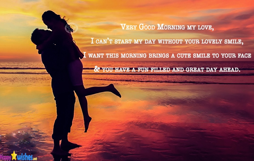 30 Beautiful Good Morning Quotes For Him: Romantic Good Morning Quotes For Him