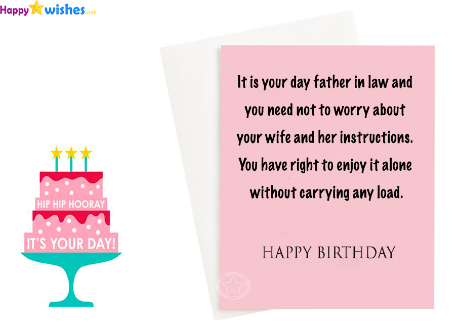 40+ Best Birthday Wishes For Father In Law