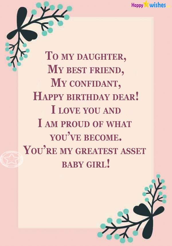 Happy Birthday quotes for stepdaughter