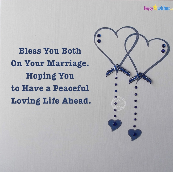 Congratulation Messages To Bride Groom Wedding Wishes