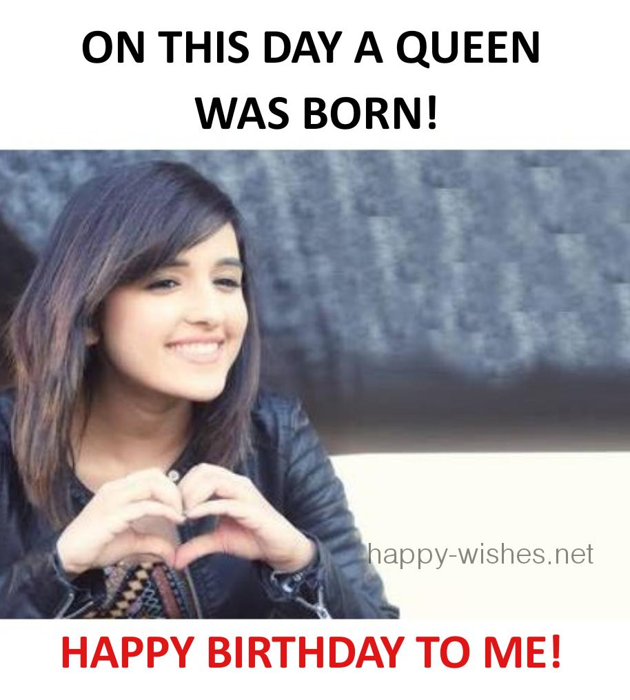 Happy birthday to me image