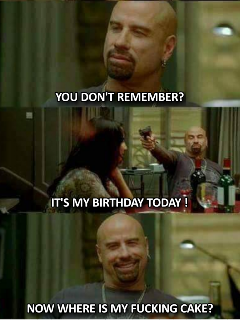 Its my birthday today meme