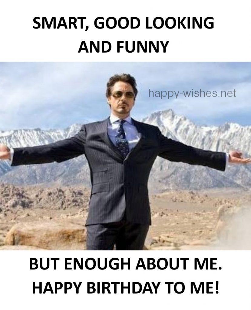 happy birthday to me attitude meme
