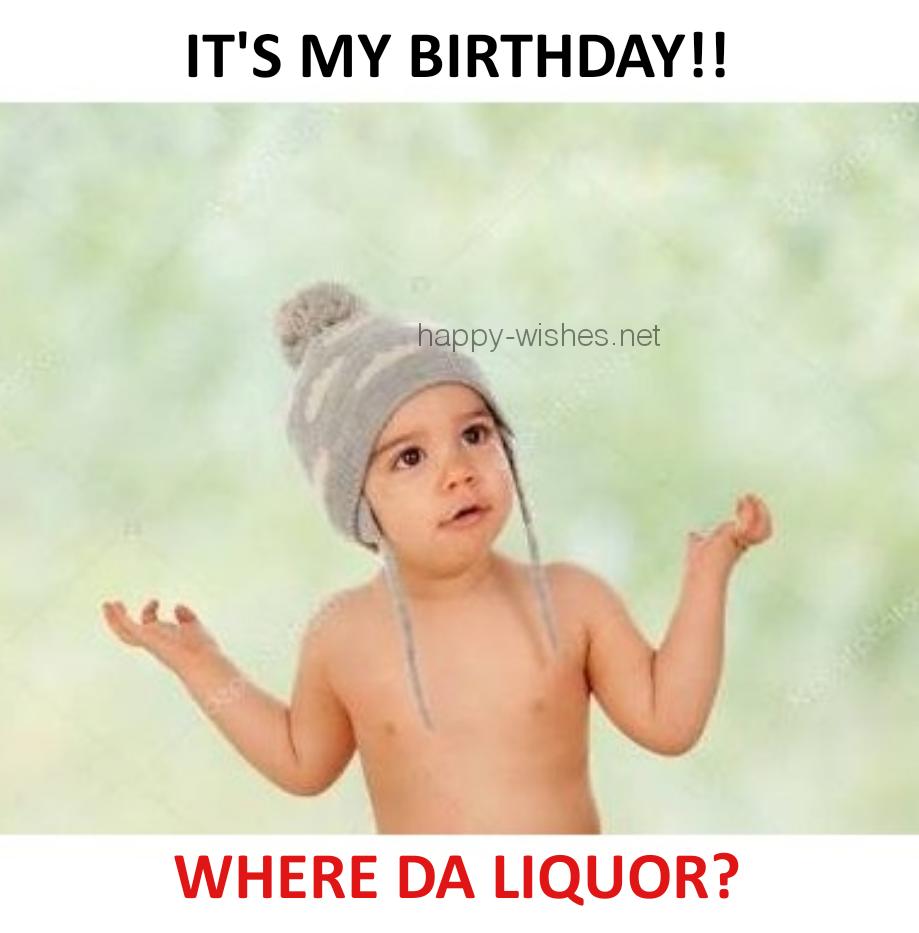 its my birthday kid meme
